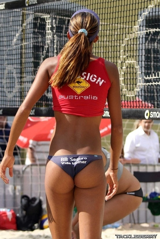 Tight Volleyball Ass 93
